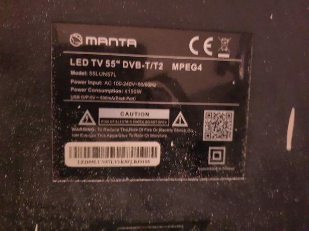Telewizor Manta 55' uszkodzony