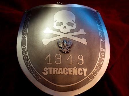 Ryngraf Straceńcy 1919 Poznański Ochotniczy Batalion Śmierci do szabel