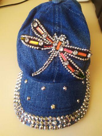 Продам стильну дівчачу кепку 54 р. CAPRICORN