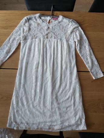Sukienka ślubna ciążowa.