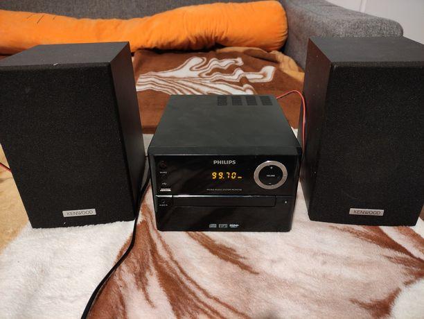 Wieża Philips 2150 plus głośniki kenwood