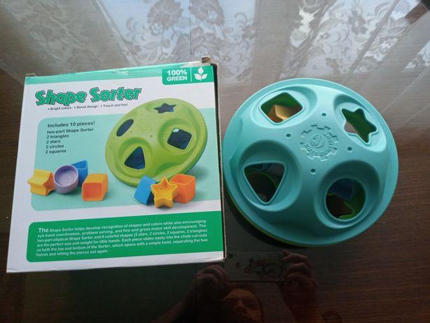 Экологически чистая - интерактивная игрушка для малышей.