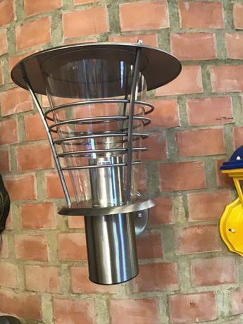 Продам садово-парковые светильники из нержавейки на фасад