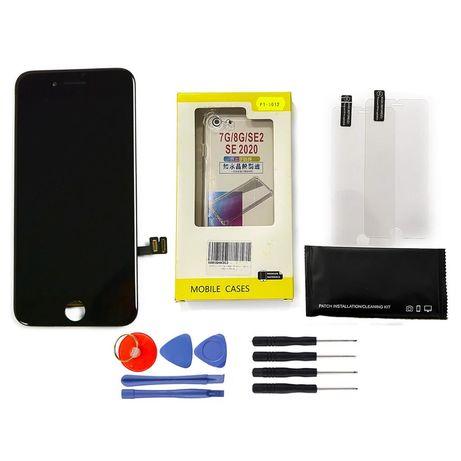 Wyświetlacz Lcd Szybka Do Iphone 7 + Etui 2 Szkła