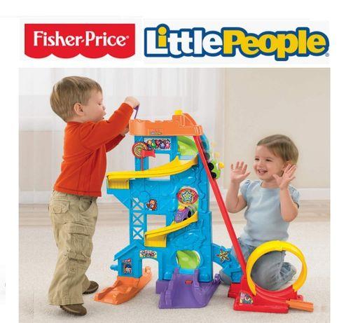 Fisher-Price Little People Amusement Park Y8854 Парковка Фішер Прайс