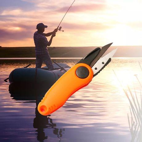 Ножницы для рыбалки, крючки, приманки
