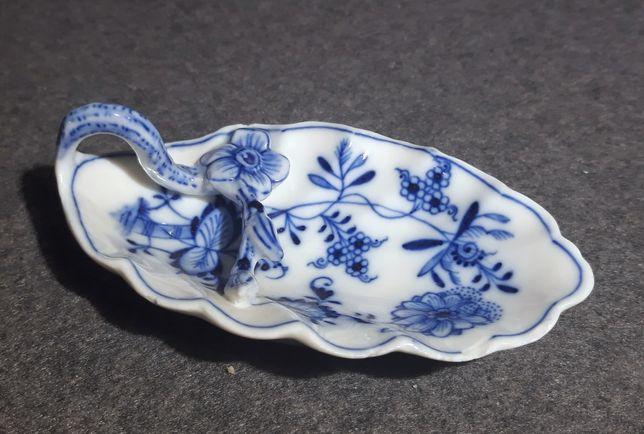MEISSEN Teichert, Miśnia porcelana, przyprawy, wzór cebulowy Zwiebel