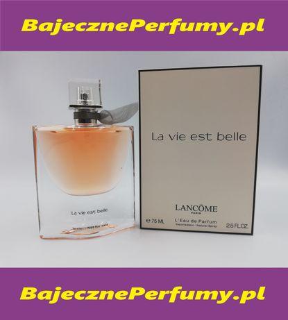 Perfumy Lancome la vie est Belle 75ml tester hit okazja wyprzedaż yikn