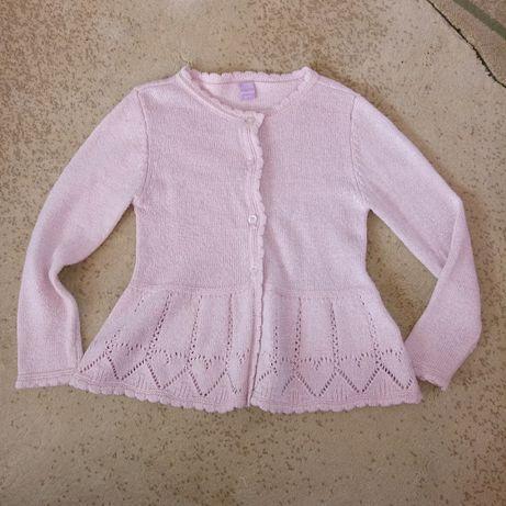 Sweterki dla dziewczynki 110/116