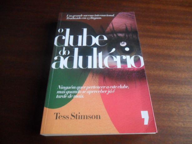 """""""O Clube do Adultério"""" de Tess Stimson"""
