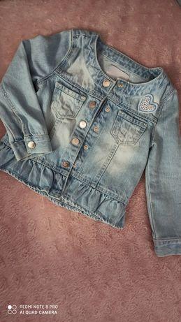 Śliczna katana, bluza jeansowa rozm 92, Reserved