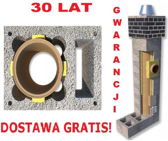 Komin 6m KW fi 200 Komin systemowy Ceramiczny Dostawa Gratis!!