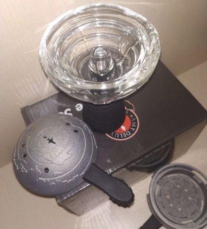 Чаша Amy Delux стеклянная глобус