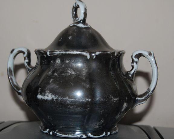 Stara, przedwojenna, porcelanowa cukiernica Bavaria.