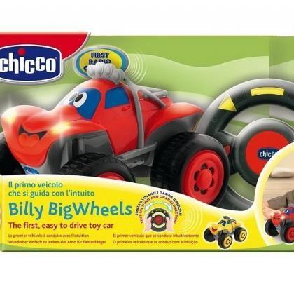 Машинка на р/у чикко автомобиль Джип Билли Chicco 617592 617590