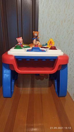 Игровой столик стол  стіл Chicco