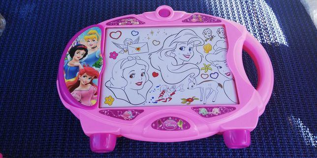 Projektor tablica podświetlana do rysowania przewijana księżniczki dis