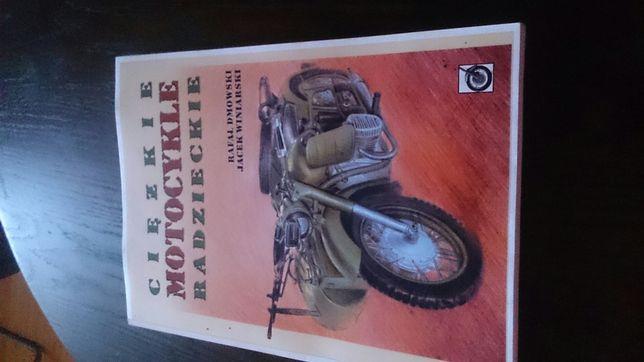 Książka Ciężkie Motocykle Radzieckie