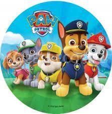 Psi patrol Foremki/wycinarki do ciastek Chase Marshall Skye