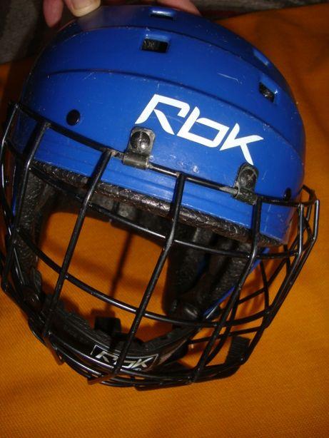 kask hokejowy Rebook -Jofa roz 50-57 cm-Super szwecja atest-krata