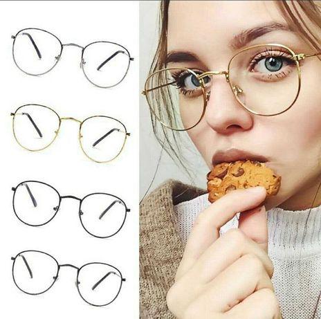 Имиджевые очки с прозрачными стеклами!