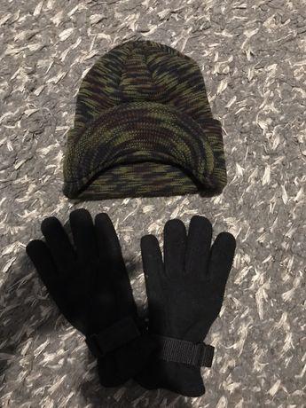 Шапка і перчатки