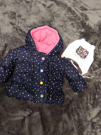 Куртка + шапка для дівчинки