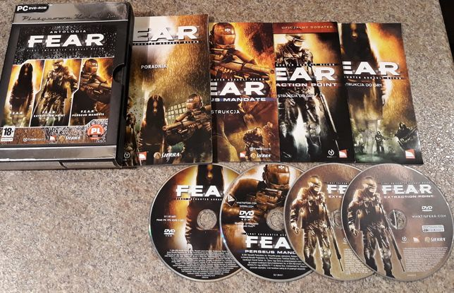 FEAR / F.E.A.R. Antologia + F.E.A.R. 2 Project Origin PC PL
