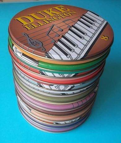 Coleção 12 CDs Sinatra, Armstrong, Ellington, Crosby & Nash, Platters
