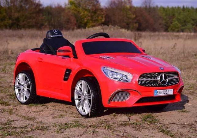 Auto samochód na akumulator Mercedes SL 400 zabawki jeździk wózek RC