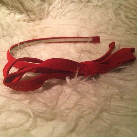 Bandolete laço vermelha