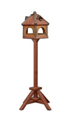 Karmnik dla ptaków noga domek