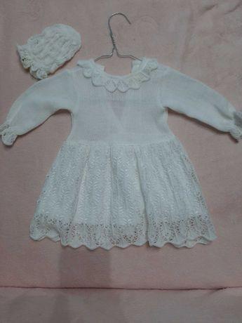 Sukienka, ubranko dla dziewczynki na chrzest