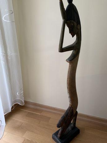 Figurka drewniana Afrykanka