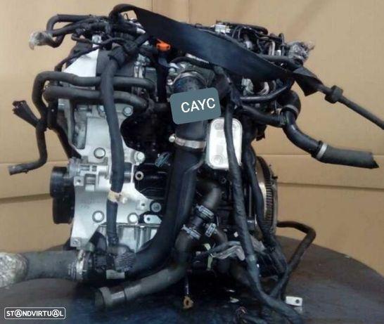 Motor Volkswagen Golf VI Touran Passat Polo 1.6Tdi 105Cv Ref.CAYC