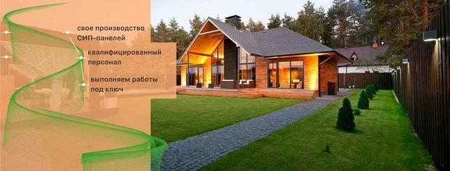 Дома из Sip панелей , строительство