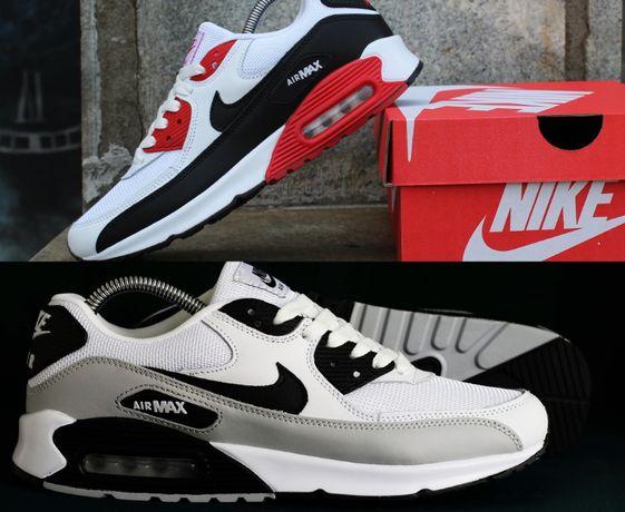 441-33 Кроссовки Nike Air Max 90 (41-46) - Вьетнам, ТОП, 2 цвета!
