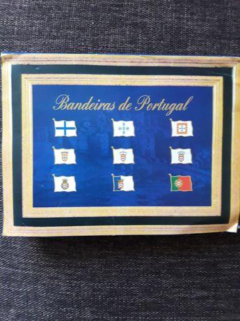 Pins bandeiras de Portugal