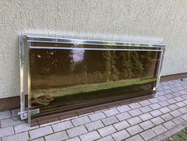 Szkło z prysznica (nie plexi) 2 tafle