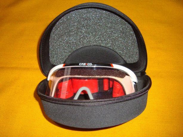 gogle/ okulary sportowe Cas co + etui -Sper