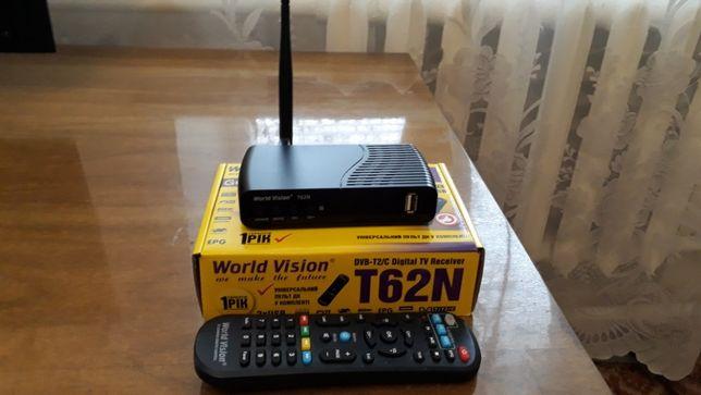 Тюнер World Vision T62N с WI FI