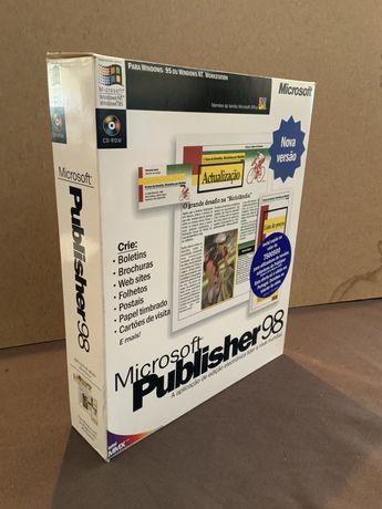Software Vintage Microsoft Publisher 98 (1998)