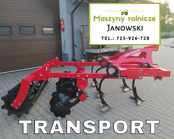 Agregat Podorywkowy Gruber Metanga okazja! Transport PL Najlepsze CENY