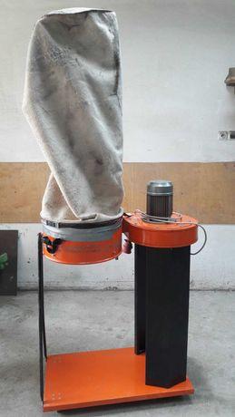 Odciąg CORAL, Φ 45cm, wysokość 225cm, wyciąg do trocin stolarski