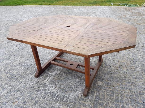 Mesa exterior extensível  acacia 1.20 - 1.70