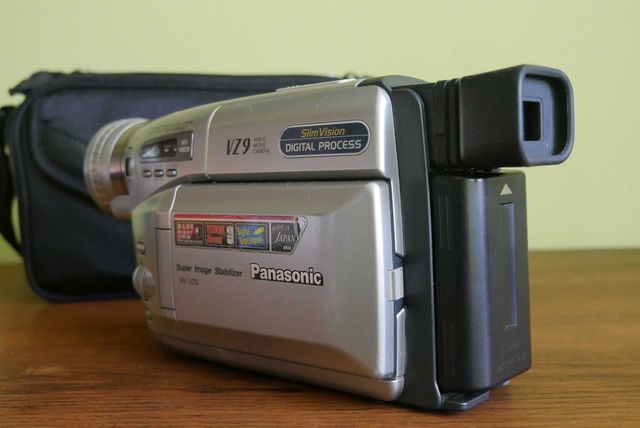 Kamera Panasonic NV-VZ9EG VHS