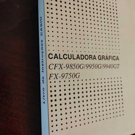 Livro de instruções Casio