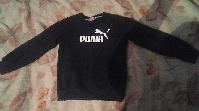 Bluza czarna puma ciepla