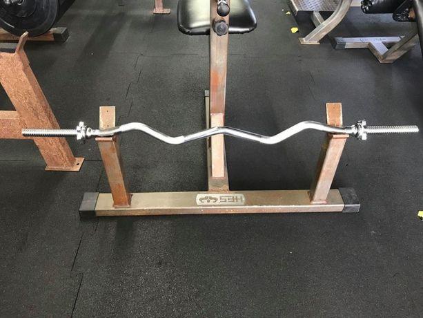 Nowy Gryf łamany sztanga 120cm Dostępny od Ręki ,domowa siłownia pod