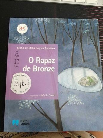 """Livro """"O Rapaz de Bronze"""""""